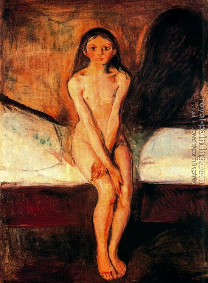 Edvard Munch : Puberty